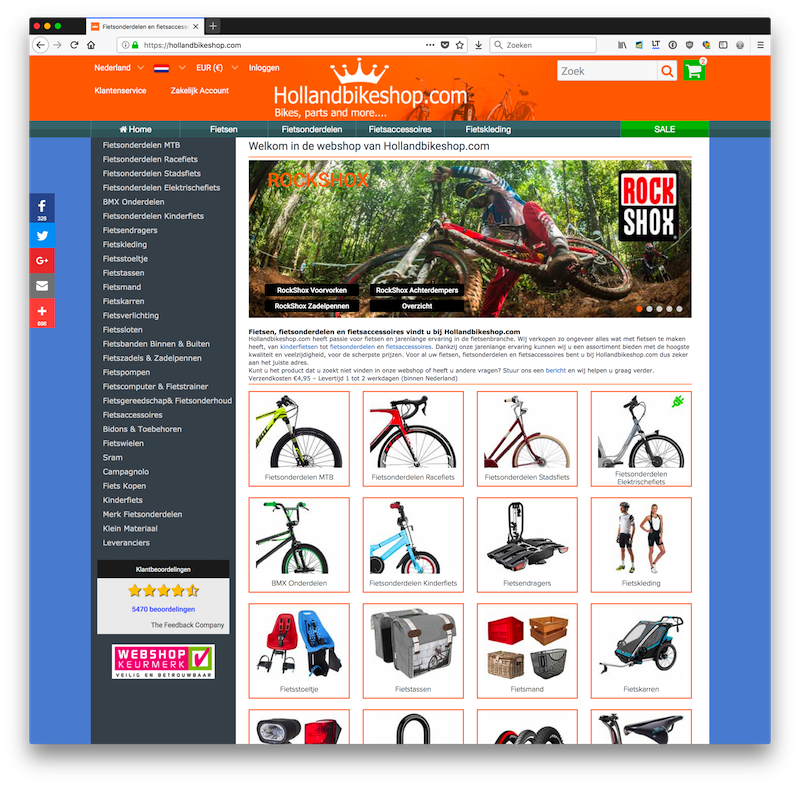 Hollandbikeshop.com